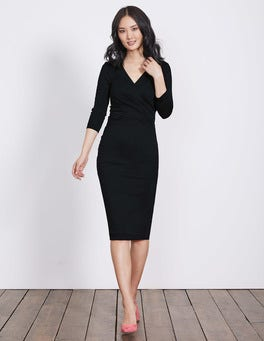 Black Connie Ponte Dress