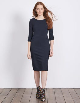 Navy Jessie Jersey Dress