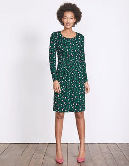 Emerald Night Bud Mabel Jersey Dress