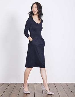 Navy Mabel Jersey Dress