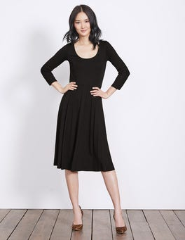 Black Alannah Jersey Dress