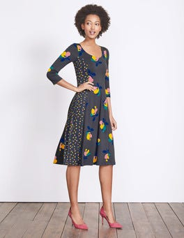 Gunpowder Bloom Alannah Jersey Dress