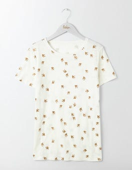 Gold Swallow Make A Statement Tee