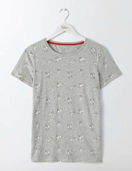 Grey Marl Sprout Make A Statement Tee