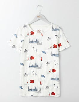 London Conversational Make-A-Statement Tee