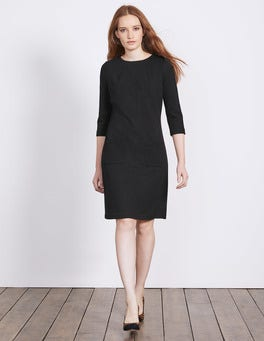 Black Marisole Jacquard Dress