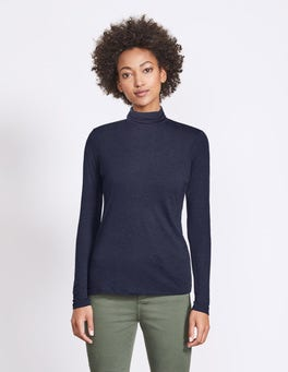 Luxe Mock Neck Top