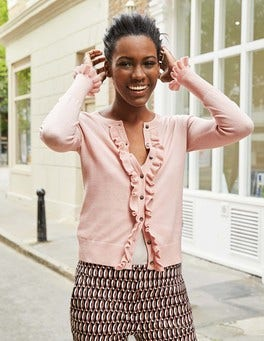 Frill Front Cardigan