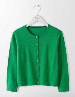 Eden Favourite Crop Crew Cardigan