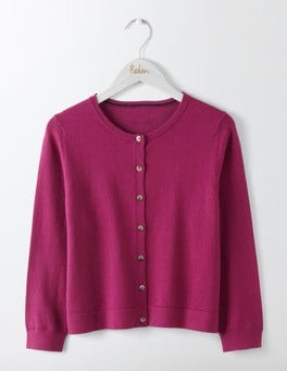 Fallen Fruit Favourite Crop Crew Cardigan
