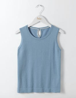Delph Blue Favourite Knitted Tank