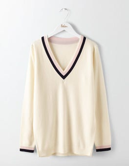 Relaxed Cricket Sweater