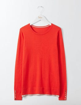 Post Box Red Tilly Jumper