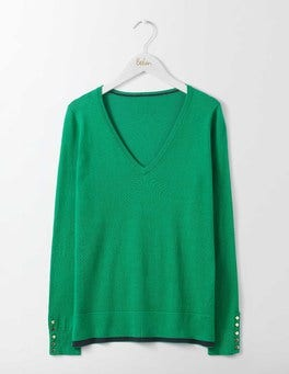 Eden Tilly V-Neck Sweater