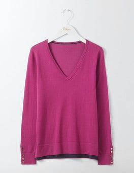 Fallen Fruit Tilly V-neck Jumper
