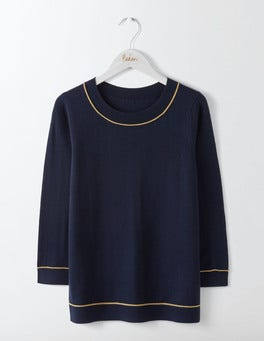 Navy Petronella Sweater