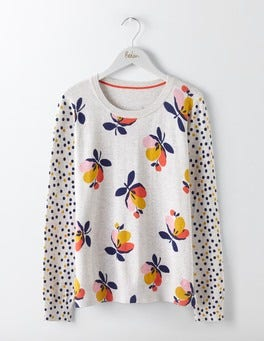 Saffron Bloom Rafaela Printed Jumper