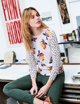 Rafaela Printed Sweater