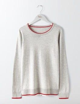 Ivory Multi Confetti Spot Eva Woven Mix Sweater