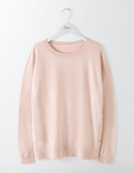 Chalky Rose Grace Button Jumper