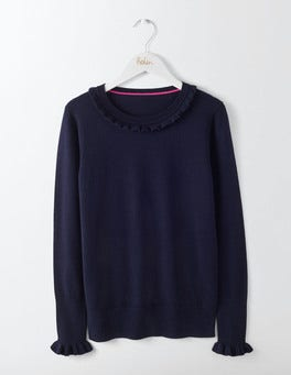 Navy Bernadette Sweater