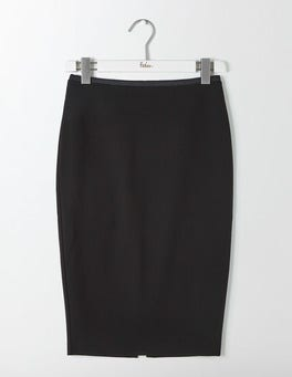 Black Hampshire Ponte Skirt