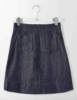 Indigo Denim Dorchester Skirt