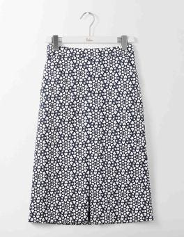 Navy Tile Heart Riviera Skirt