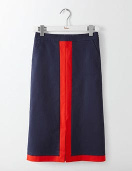 Navy Riviera Skirt