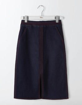 Indigo Denim Bloomsbury Denim Skirt
