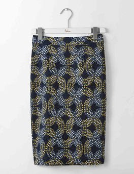Navy Garland Martha Skirt