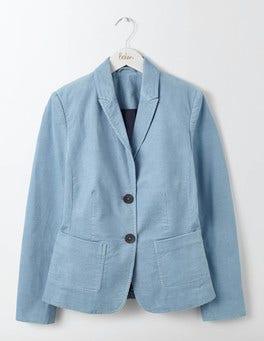 Delph Blue Oxfordshire Cord Blazer