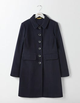 Navy Sofia Coat