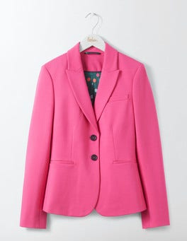 Party Pink Elizabeth Ponte Blazer