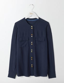 Navy Ashbourne Blouse