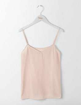 Chalky Rose Silk Cami