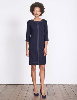 Navy Alda Dress