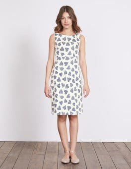 Ivory Cluster Heart Diane Dress