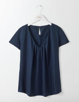 Navy V-Neck Ravello
