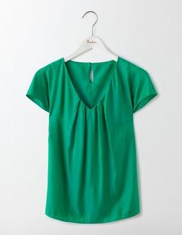 Meadow Green V-neck Ravello