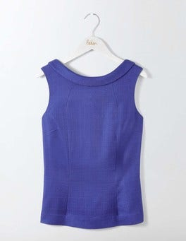 Greek Blue Martha Top
