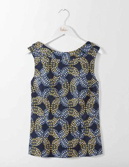 French Navy Garland Martha Top