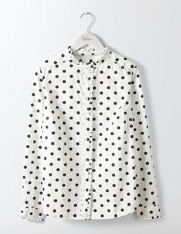 Black Spot Virginie Ruffle Shirt