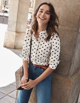 Virginie Ruffle Shirt