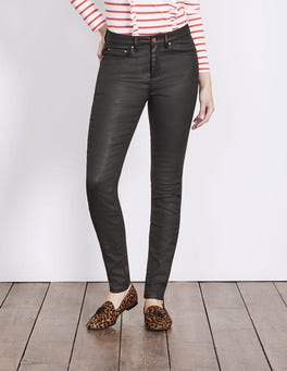 Black Wax Mayfair Modern Skinny Jeans