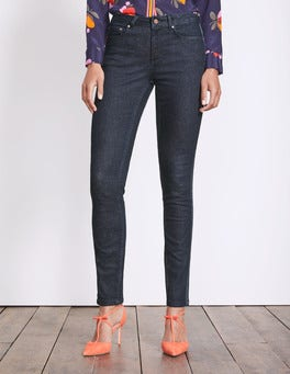 Indigo with Navy Velvet Trim Soho Skinny Jeans