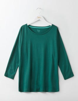 Deep Forest Supersoft Oversized Top