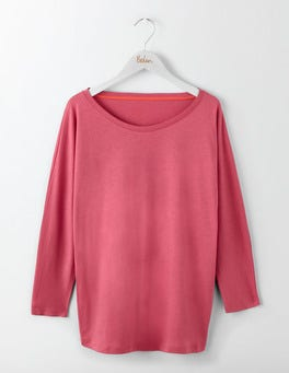 Rose Blossom Supersoft Oversized Tee