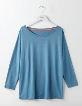 Azure Supersoft Oversized Tee