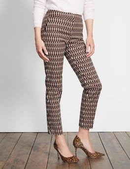 Autumn Brown Crescent Geo Richmond 7/8 Trousers